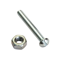 machine screws and nuts